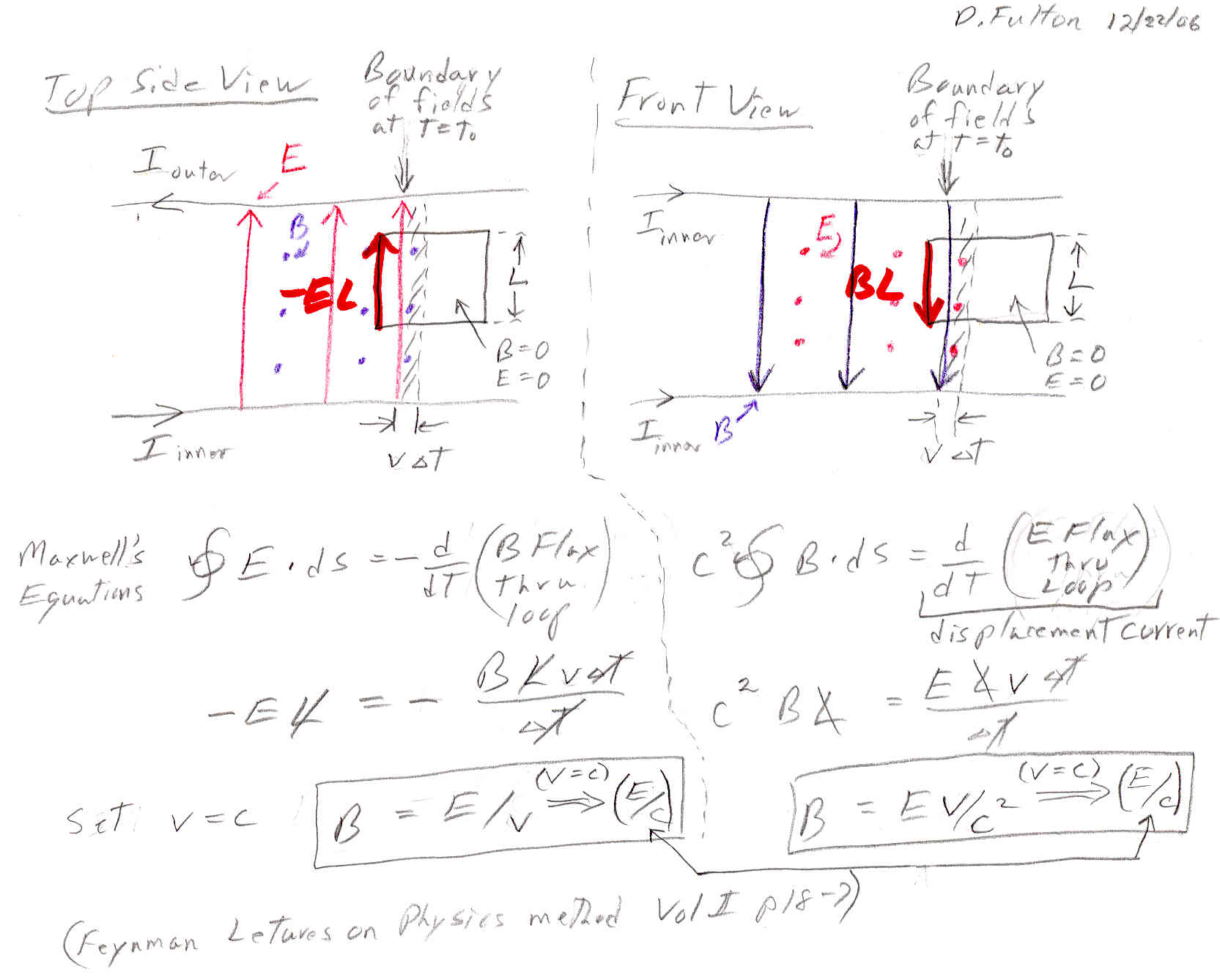 Electric field energy: experiments and formulas 52