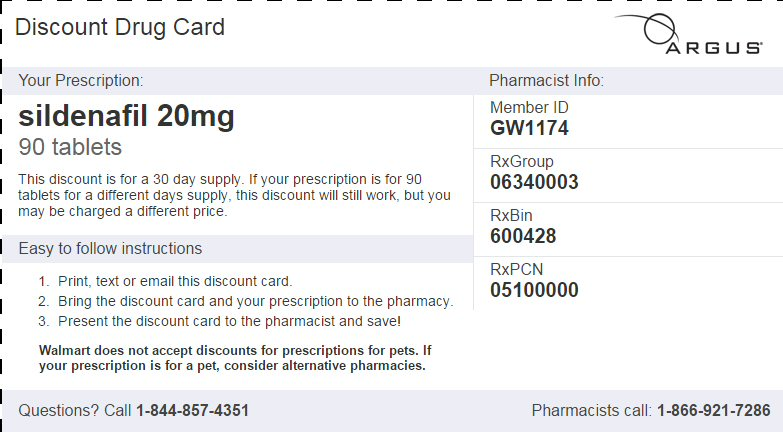 Discount Pharmacy Sildenafil Citrate